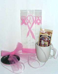 50 HOPE PINK RIBBONS BREAST CANCER AWARENESS 5x3x11.5