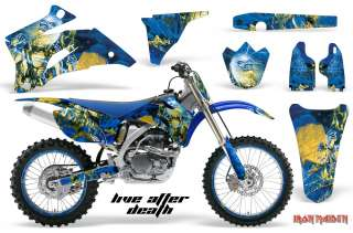AMR RACING STICKER GRAPHIC KIT DECAL YAMAHA YZ450F YZ250F 06 09 IRON