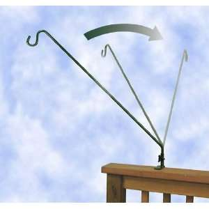 27 inch Extended Reach Deck Hook   for hanging Bird Feeders outward