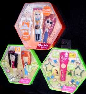 BLUE BARBIE GIRLS  PLAYER +MIX & MATCH FASHION SETS