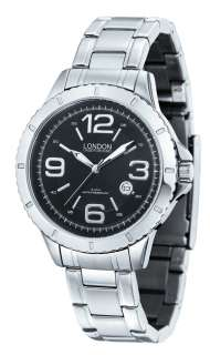 Mens Stainless Watch by London Underground LU 201014 A