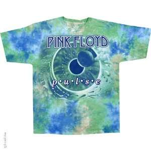 Pink Floyd Aqua Pulse T Shirt (Tie Dye), M  Sports