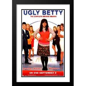 Ugly Betty 20x26 Framed and Double Matted TV Poster   Style D   2006