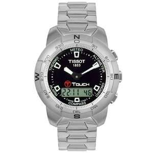 Tissot Mens T33158851 T Touch Stainless Steel Watch