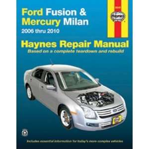 Ford Fusion & Mercury Milan 2006 2010 (Haynes Repair