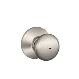 Schlage F40PLY619 Plymouth Privacy Knob, Satin Nickel by Schlage