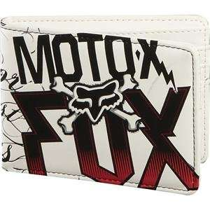 Fox Racing Victory Wallet   White Automotive
