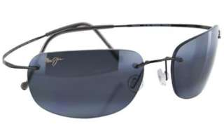 NEW Maui Jim Titanium Kapalua Unisex Polarized Grey Lenses 502 02