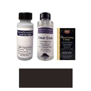 2 Oz. Flat Black (Window Trim Paint) Paint Bottle Kit for