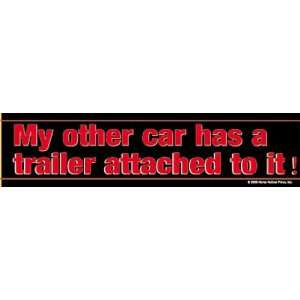 My other car has a horse trailer Bumper Sticker