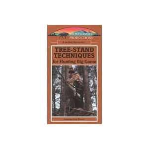 Tree Stand Techniques for Hunting Big Game VHS Tape