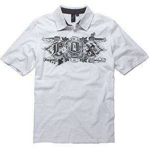 Fox Racing Vahalla Polo   X Large/White Automotive