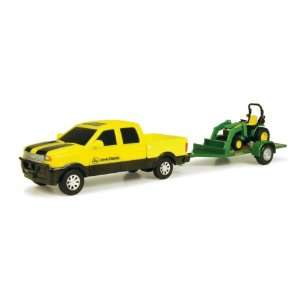 John Deere Pickup Truck with Tractor Toys & Games