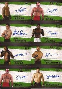 2010 Topps UFC Knockout ANDERSON SILVA Green AUTO /88