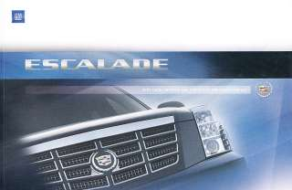 2007 Cadillac Escalade EXT ESV Media Special Sales Brochure Catalog
