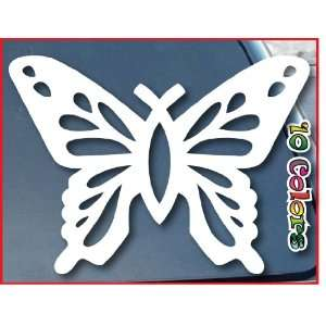 Butterfly Christian Fish Car Window Vinyl Decal Sticker 9 Wide (Color