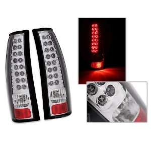 Chevy Suburban Led Tail Lights Chrome LED Taillights 1992