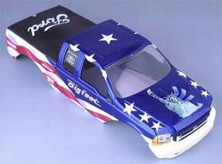Franklin Mint Ford Bigfoot Monster Truck Body   Liberty 124   Mint in