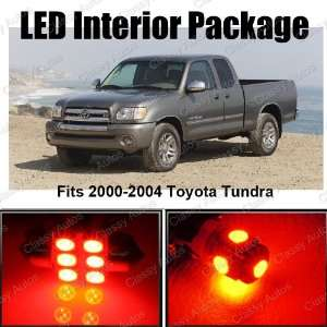 Toyota Tundra RED Interior LED Package (6 Pieces)