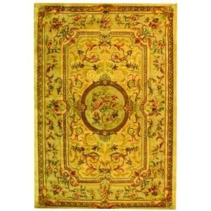 Safavieh Bergama BRG168A Light Gold and Beige Traditional 6 x 9 Area