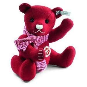 Steiff Felt Red Christmas Teddy Bear Toys & Games