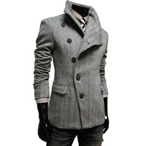 TheLees NWT Mens casual Slim fit Double Single Jacket Coat Blazer