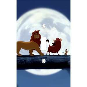 The Lion King Light Switch Cover Plate