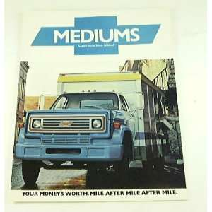 76 Chevrolet Chevy MEDIUM Truck BROCHURE 50 60 65