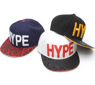 Snapback Flat Cap Hat Black White Navy TaeYang Big Bang Kpop