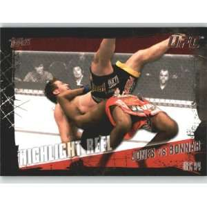 2010 Topps UFC Trading Card # 191 Jon Jones vs Stephan Bonnar