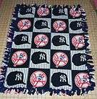 New York Yankees Navy Ped Patchwork Fleece Baby Pet Dog Lap Blanket