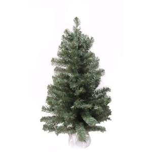 3 Noble Blue Spruce Artificial Christmas Tree In Silver