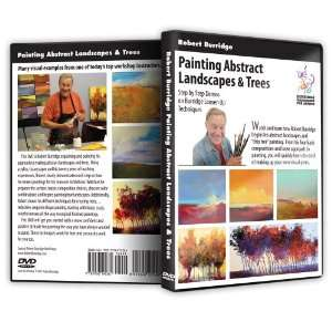 Bob Burridge Painting Abstract Landscapes and Trees DVD