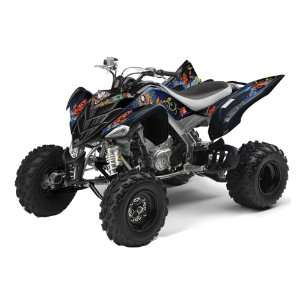 Ed Hardy AMR Racing Yamaha Raptor 700 ATV Quad Graphic Kit