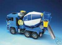 Bruder Toys MAN Cement Mixer Truck NEW