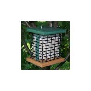 Double Suet Feeder (Bird Feeders) (Recycled Feeders)