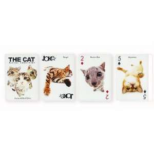The Cat Playing Cards Toys & Games