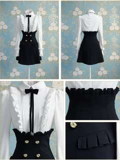 OL Japan Kawaii Fashion Dolly sweet Cute Princess Women Black Lace