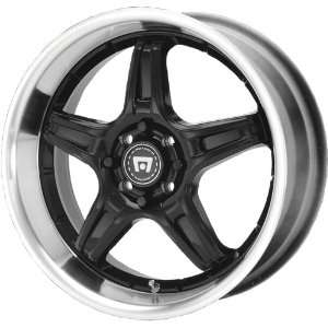 Motegi SP5 18x7.5 Black Wheel / Rim 4x100 & 4x4.5 with a 40mm Offset