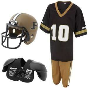 Franklin Purdue Boilermakers Youth Football Uniform Set
