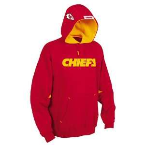 Kansas City Chiefs Nfl Helmet Hooded Fleece Pullover (Red