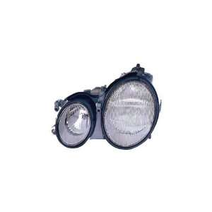 Mercedes Benz CLK Class Driver Side Replacement Headlight