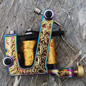 Top Custom Cast Iron Tattoo Machine Gun Shader HM52