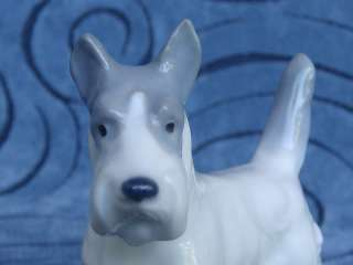 Vintage Porcelain METZLER & ORTLOFF Germany SCOTTISH TERRIER Dog M & O