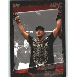 2010 Topps UFC Trading Card # 65 Brandon Vera (Ultimate Fighting