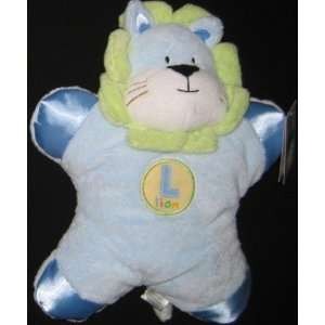 Little Wonders Blue Lion Plush Baby Toy Toys & Games