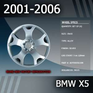 2006 BMW X5 OEM Factory 19 Replacement Wheel Set of 4 Automotive