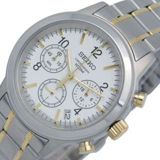 SEIKO MENS CHRONOGRAPH STEEL WATCH SSB009 NEW MODEL