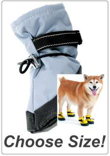 Arctic Winter Proof Fleece Lined Dog Boots Shoes w/FREE GIFT