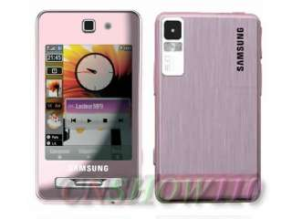 NEW UNLOCKED SAMSUNG F480 5MP GSM 3G CELL PHONE PINK 8808993533305